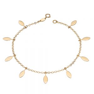 Elements Gold 9ct Yellow Gold Bracelet